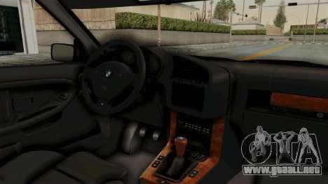 BMW 325i E36 Coupe para visión interna GTA San Andreas
