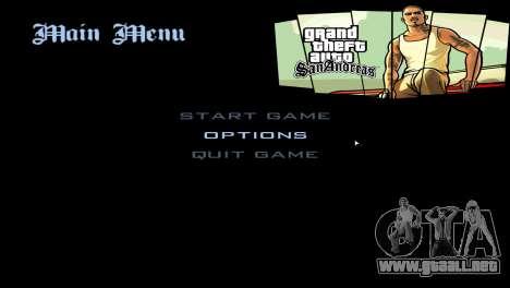 Loadscreens de San Andreas Deluxe para GTA San Andreas segunda pantalla