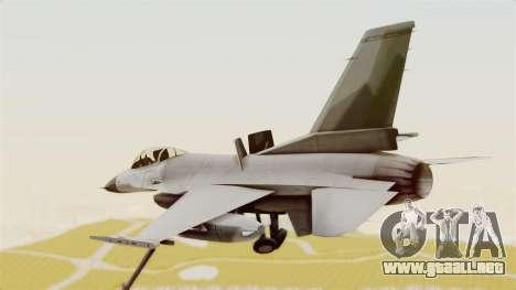 F-16 Fighting Falcon para la visión correcta GTA San Andreas