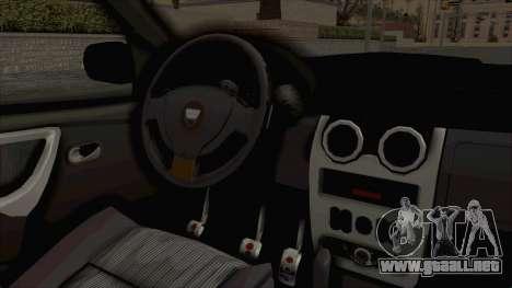 Dacia Duster 2010 Tuning para visión interna GTA San Andreas