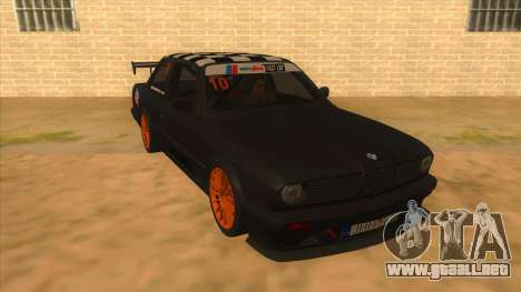 BMW 325i Turbo para GTA San Andreas vista hacia atrás
