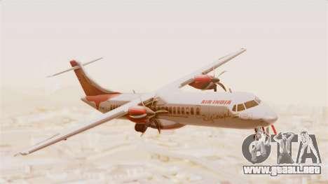 ATR 72-600 Air India Regional para GTA San Andreas vista posterior izquierda
