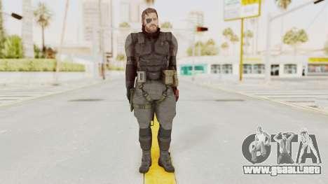 MGSV Phantom Pain Venom Snake Sneaking Suit para GTA San Andreas segunda pantalla