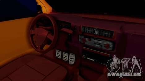 Toyota Hilux 2010 Off-Road Swag Edition para GTA San Andreas vista hacia atrás