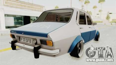 Dacia 1300 Stance Police para GTA San Andreas left