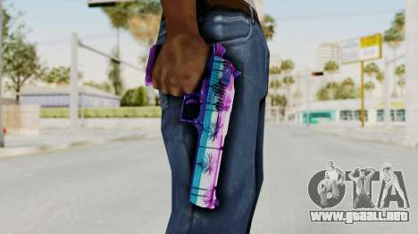 Vice Desert Eagle para GTA San Andreas tercera pantalla