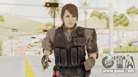 MGSV Phantom Pain Quiet XOF v1 para GTA San Andreas