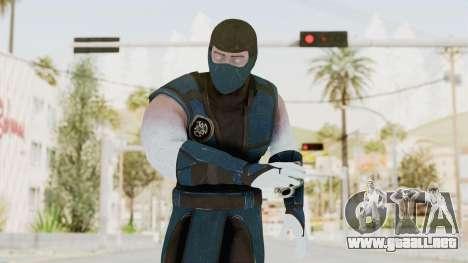 Mortal Kombat X Klassic Sub Zero v2 para GTA San Andreas
