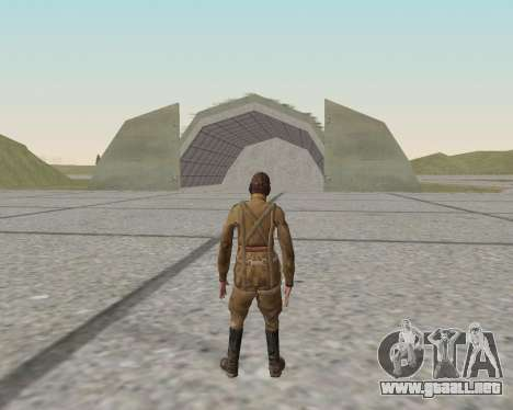 Pak combatientes del ejército rojo para GTA San Andreas undécima de pantalla