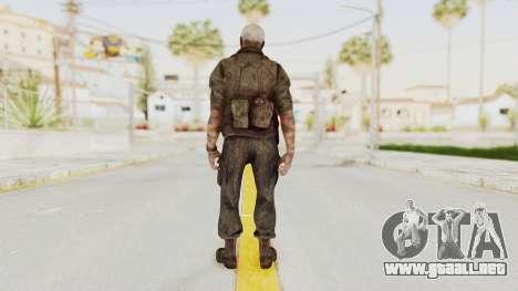 COD Black Ops 2 Hudson Commando para GTA San Andreas tercera pantalla