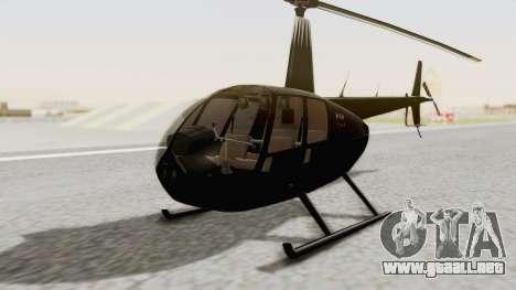 Helicopter de la Policia Nacional del Paraguay para GTA San Andreas