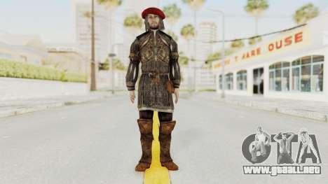 AC Brotherhood - Leonardo Da Vinci Fixed para GTA San Andreas segunda pantalla