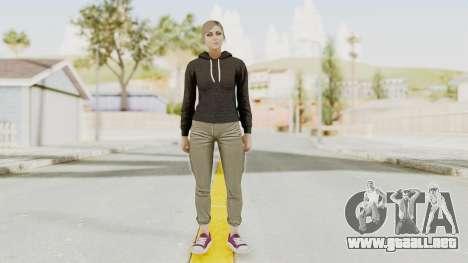 GTA 5 Online Female Skin 2 para GTA San Andreas segunda pantalla