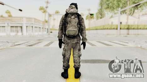 Battlefiled 3 Russian Engineer para GTA San Andreas tercera pantalla