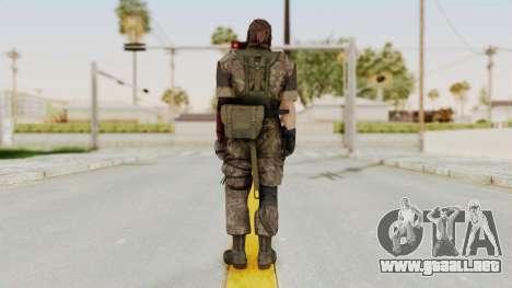 MGSV The Phantom Pain Venom Snake No Eyepatch v6 para GTA San Andreas tercera pantalla