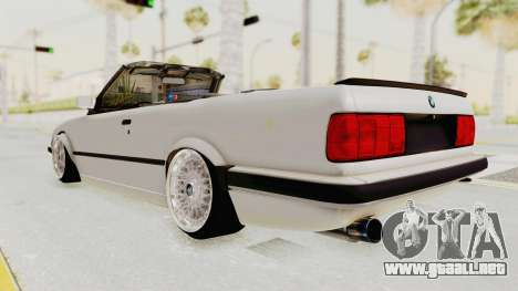 BMW 316i E30 para GTA San Andreas left