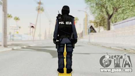 Albania Officer para GTA San Andreas tercera pantalla