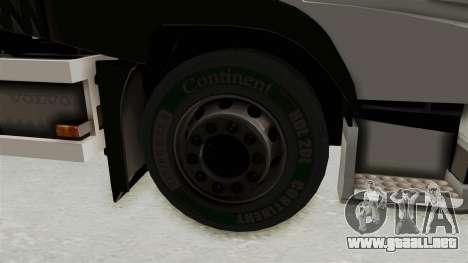 Volvo FM Euro 6 6x4 Tandem v1.0 para la visión correcta GTA San Andreas