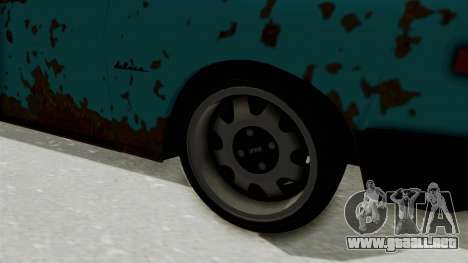 Wartburg 353 Rat Style para GTA San Andreas vista hacia atrás