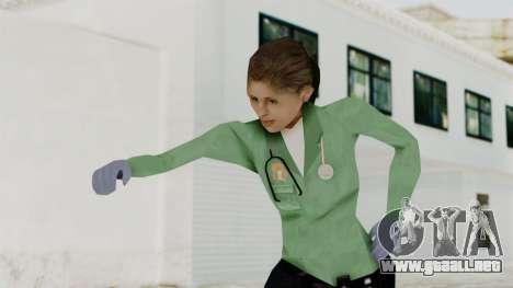 Female Medic Skin para GTA San Andreas