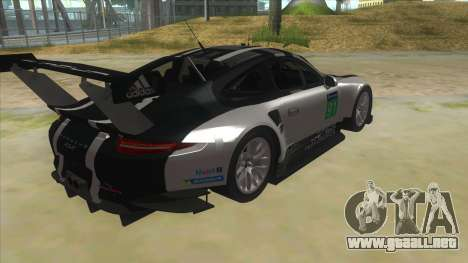 2016 Porsche 911 RSR para la visión correcta GTA San Andreas
