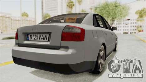 Audi A4 2002 Stock para GTA San Andreas left