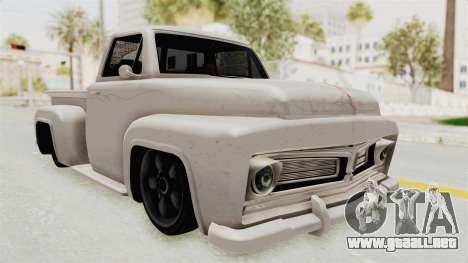 GTA 5 Slamvan Stock para la visión correcta GTA San Andreas