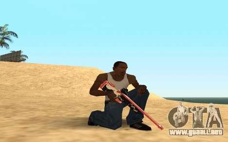 Rifle Cyrex para GTA San Andreas séptima pantalla