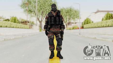 Battery Online Russian Soldier 5 v2 para GTA San Andreas segunda pantalla