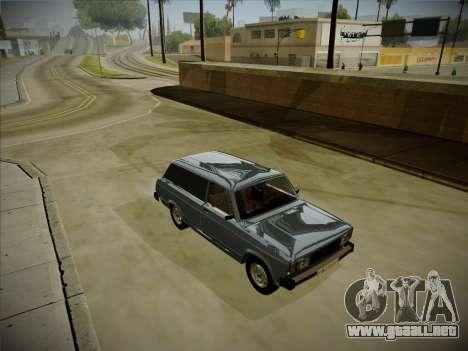 VAZ 2104 con un gran tronco para GTA San Andreas left