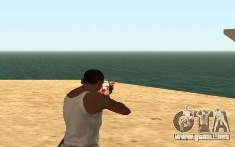 Rifle Cyrex para GTA San Andreas quinta pantalla