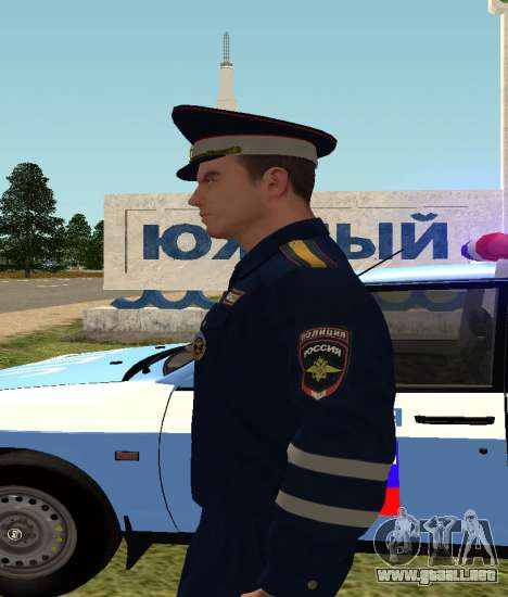 El sargento de DPS para GTA San Andreas tercera pantalla