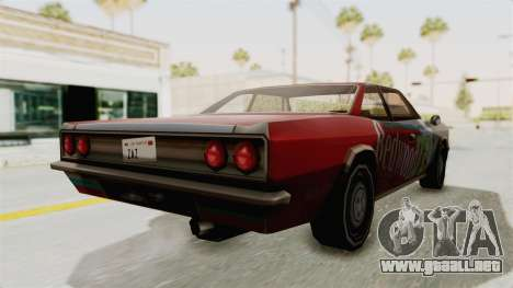 Redwood TaMpa para GTA San Andreas left