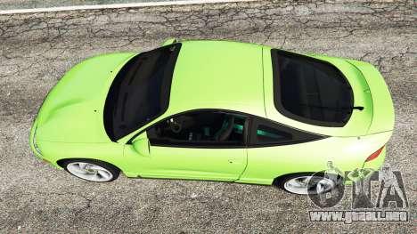 GTA 5 Mitsubishi Eclipse GSX vista trasera