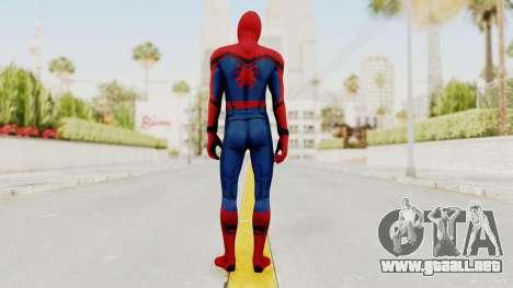 Captain America Civil War - Spider-Man para GTA San Andreas tercera pantalla