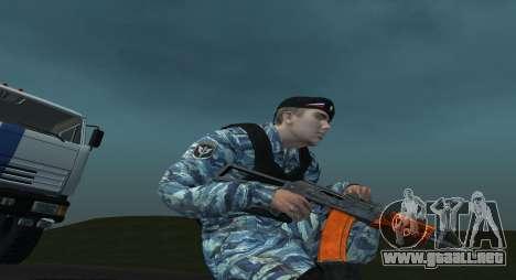 Un Policía Antidisturbios para GTA San Andreas segunda pantalla