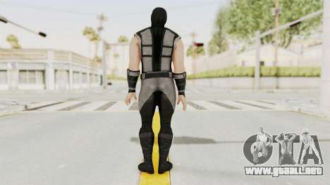 Mortal Kombat X Klassic Human Smoke para GTA San Andreas tercera pantalla
