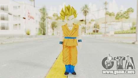 Dragon Ball Xenoverse Gohan Teen DBS SSJ2 v2 para GTA San Andreas segunda pantalla