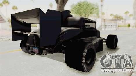 Ford 32 F1 para GTA San Andreas vista posterior izquierda