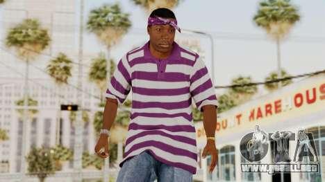 GTA 5 Ballas 1 para GTA San Andreas