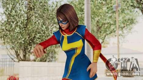 Marvel Future Fight - Kamala Khan para GTA San Andreas