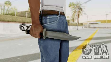 Liberty City Stories - Knife para GTA San Andreas tercera pantalla