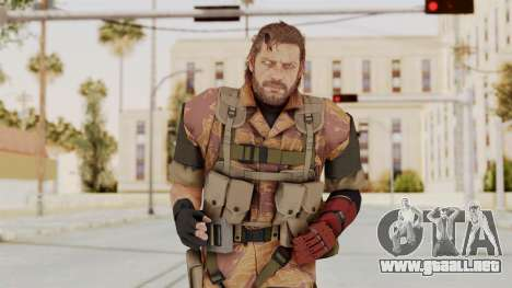 MGSV The Phantom Pain Venom Snake No Eyepatch v5 para GTA San Andreas