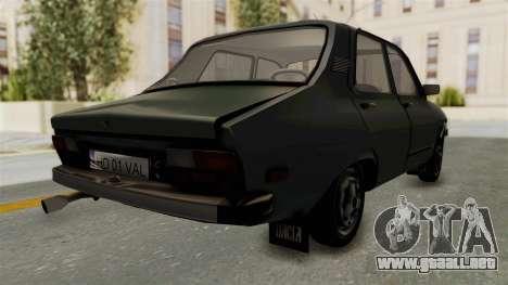 Dacia 1310 Funingi Taraneasca para GTA San Andreas vista posterior izquierda