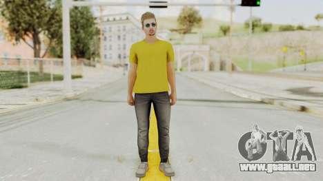 Skin from GTA 5 Online para GTA San Andreas segunda pantalla