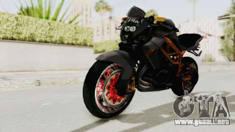 Kawasaki ER 6N Superbike para GTA San Andreas