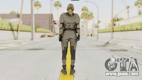 MGSV Phantom Pain Quiet Sniper Wolf para GTA San Andreas tercera pantalla