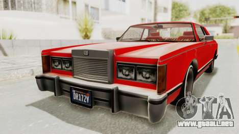 GTA 5 Dundreary Virgo Classic Custom v2 para GTA San Andreas