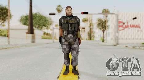 MGSV The Phantom Pain Venom Snake No Eyepatch v7 para GTA San Andreas segunda pantalla