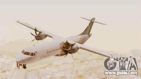 ATR 72-500 MASwings para GTA San Andreas vista posterior izquierda